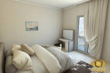 3D-визуализация спальной в квартире Греции, заказа
